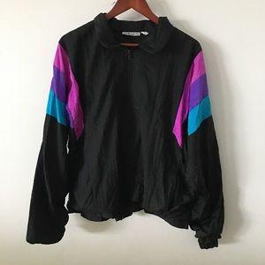 Men's Vintage Windbreaker Jacket Sz M